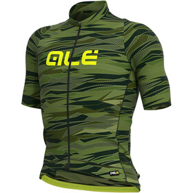 Alé Cycling Graphics PRR Rock SS Jersey Men green/fluo yellow